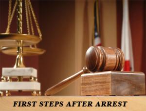 First steps after arrest